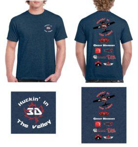 Huckin 2017 T-shirt design